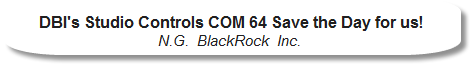 BlackRock Inc. - Studio Controls COM 64 Saved our VBA development projects!