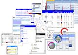 Studio Controls COM 64-bit - 29 ActiveX Controls for UI and UX application design - Access, VB, C++, VFP,