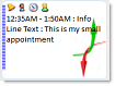 ctxCalendar - Appointment Image Support with Multi Line Text
