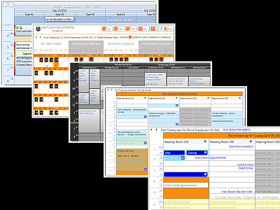 DBI Calendar WPF - Appointment Scheduler, Week View, Month View