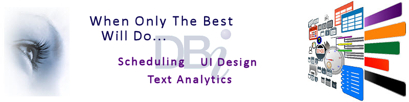 DBI Technologies Inc - Top 100 Scheduling and UI Design Software Components - ComponentSource 2018