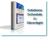 Solutions Schedule Silverlight XAML C# VB .NET Gantt Resource Scheduling for modern Visual Studio applications