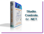 Studio Controls for .NET - 18 royalty free WinForms controls for modern Windows UI and Scheduling design