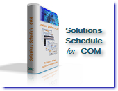 Solutions Schedule for COM - Gantt style drag and drop resource scheduling