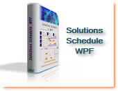 WPF Resource Schedule Gantt Roster Plan ERP