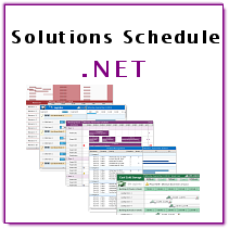 Solutuions Schedule .NET 6.0 - DBI Technologies Inc.
