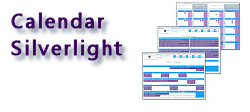 Calendar Silverlight - 3 in 1 Appointment Scheduling Control - Month View, Multi Column Day View, Week View - by DBI Technologies Inc.