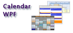 Calendar WPF - 3 in 1 Appointment Scheduling Control - Month View, Multi Column Day View, Week View - by DBI Technologies Inc.