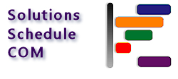 Solutions Schedule COM v14 - 32 bit ActiveX Scheduling Control, Drag Drop Gantt Scheduling planning - by DBI Technilogies