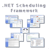 .Net Scheduling Source Code Framework Free with Enterprise Component Purchase