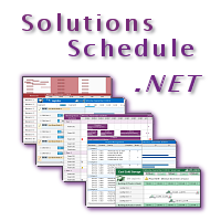 Solutuions Schedule .NET 6.0 - .NET Scheduling Controls - DBI Technologies Inc.