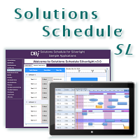 Solutions Schedule Silverlight - by DBI Technologies Inc.