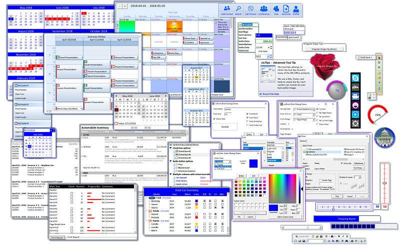 Studio Controls COM 64 - 19 Royalty Free, Unicode Controls for