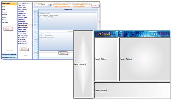 ctPanel - ActiveX  COM 4 Panel UI host control - by DBI Technologies Inc. - found in Studio Controls COM