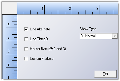 ctRuler - Time Line Measure ActiveX control for modern Windows UI design