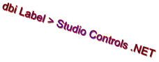 dbi Label - Studio Controls .NET v1.5 - by DBI Technologies Inc.
