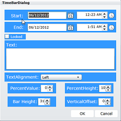 Solutions Schedule for WPF Time Dialog