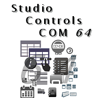 Studio Controls COM 64 Bit - DBI Technologies Inc. - 19 Royalty Free, 64 Bit VBA, C++, Access, MFC ActiveX Components