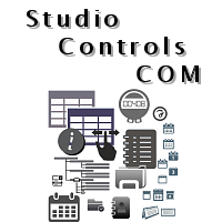 Studio Controls COM | ActiveX | OCX  - 82 Unicode Scheduling - UI Design Software Components for VBA, C++, Access, VFP, VB, LabVIEW - by DBI Technologies Inc.