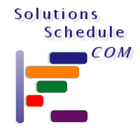 Solutions Schedule COM - ActiveX Scheduling Control, Drag Drop Gantt Scheduling planning - by DBI Technilogies